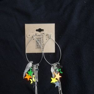 Rock star earings